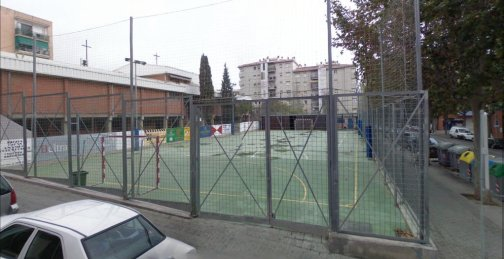 Pista poliesportiva municipal d 39 el palau for Piscina municipal mataro