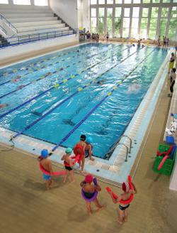 La piscina municipal programa una jornada de portes for Piscina municipal mataro