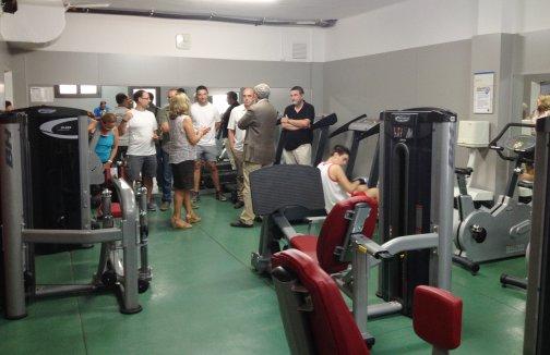 La piscina municipal renova el gimn s i incorpora maquin ria per fer fitness - Piscina municipal mataro ...