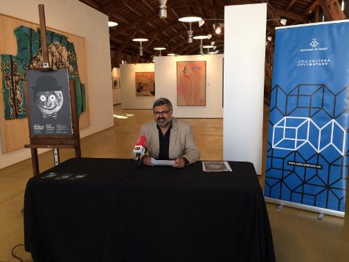 El regidor de Cultura, Joaquim Fernàndez, ha presentat la Nit de la Cultura. Foto: Ajuntament
