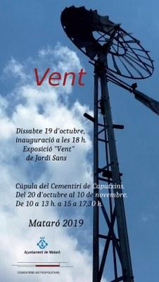 """Exposició """"Vent"""" de Jordi Sans"""