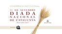 """Conferència Institucional de l'11 de setembre. Diada Nacional de Catalunya. """"Joan Triadú, un referent encara necessari"""","""