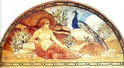 Els frescos de Torres Garcia del Palau de la Generalita...