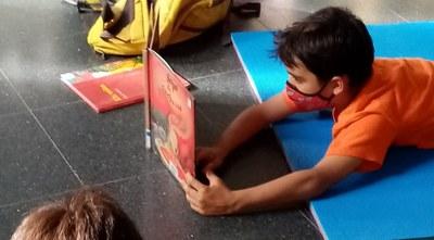 Llibres que inspiren. Agafa aire, respira històries