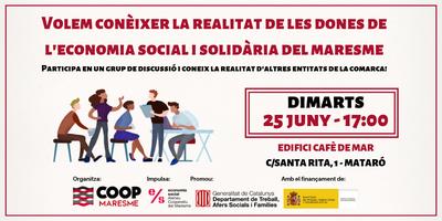 Grup de discussió sobre dones i economia social al Mar...