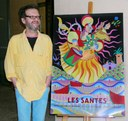Joan Hortós firma el cartell de Les Santes 2011