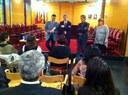 L'Ajuntament rep als estudiants que participen en un projecte europeu que pren la fotografia com a eina pedagògica