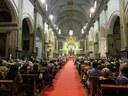 L'alcalde presideix junt al conseller d'Interior la comitiva institucional que assisteix a la Missa de Les Santes