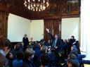 Alumnes de l'escola Meritxell visiten l'Ajuntament