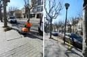 El tram de la Riera entre la Muralla de la Presó i la plaça d'Espanya tindrà nou enllumenat públic amb LEDS