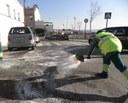 Els serveis municipals es mantenen en alerta malgrat registrar un descens d'incidències per les glaçades