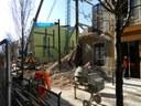 Part dels veïns desallotjats per l'ensorrament d'una casa al carrer de Sant Antoni tornen als seus habitatges