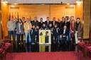 El Club Esportiu Mataró celebra cents anys en un acte commemoratiu a l'Ajuntament