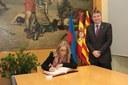 La vicepresidenta del Govern, Joana Ortega, fa una visita institucional a l'Ajuntament de Mataró
