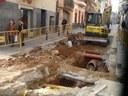 Aigües de Mataró renova el clavegueram i reurbanitza el carrer de Sant Joan Bosco entre els carrers de València i del Rosselló