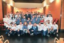 L'alcalde rep els participants als Jocs Special Olympics Barcelona-Calella 2014