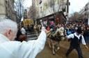 Mataró celebra la Festa dels Tres Tombs tot i el mal temps