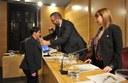 Dolors Guillen pren possessió com a regidora del grup municipal de CiU al consistori