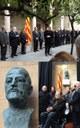 El nou bust de Puig i Cadafalch s'afegeix a la galeria de presidents del Pati dels Tarongers de la Generalitat