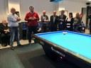 L'alcalde visita la nova seu del Club Billar Mataró