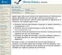 L'Oficina Virtual del Proveïdor rep 118 factures electròniques en els primers 8 mesos de funcionament