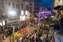 La Gran Rua de Carnestoltes compta amb la participació de més de 800 persones