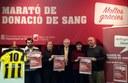 Mataró celebra la desena edició de la Marató de Donació de Sang