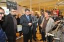 Més de 2.000 persones assisteixen a la inauguració de Can Marfà Gènere de Punt