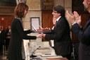 Sala Cabanyes rep la Creu de Sant Jordi de la Generalitat