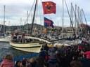 Els Missatgers Reials han arribat a Mataró a bord del llaüt Sant Ramon