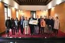 Mataró fa entrega de 26.936 euros a la Fundació Joan Petit-Nens amb càncer