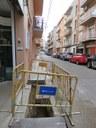 Aigües de Mataró renova la xarxa d'abastament d'aigua als carrers de la Creu Roja, dels Tres Tombs, de Nicolau Guanyabens i a la plaça dels Molins