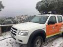 L'Ajuntament desactiva les mesures preventives un cop finalitzat l'episodi de nevades i baixes temperatures