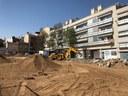 L'Ajuntament inicia la urbanització d'una plaça pública al costat del passatge de Lluís Gallifa