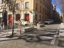 L'Ajuntament modifica la parada de taxis de la Muralla de Sant Llorenç