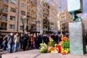 L'alcalde presideix l'ofrena floral amb motiu del Dia Oficial de la Memòria de l'Holocaust i la Prevenció dels Crims contra la Humanitat