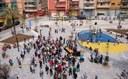 La urbanització de la plaça de Joan XXIII s'inaugura amb un taller de circ i un espectacle d'animació infantil