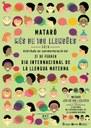 Mataró celebra per segon any consecutiu el Dia Internacional de la llengua materna