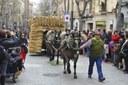 Mataró rep la visita d'una vintena de cavalls i carruatges per celebrar els Tres Tombs 2018