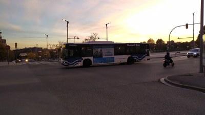 Un dels vehicles de Mataró Bus. Foto: Ajuntament