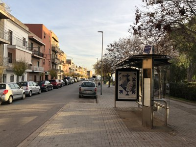 Parada que recupera la línia 4 a la ronda de Joan Peiró. Foto: Ajuntament