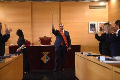 Investidura de l'alcalde, David Bote. Foto: Marga Cruz