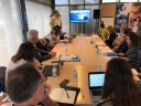 Els participants al projecte europeu BluAct es reuneixen a Mataró