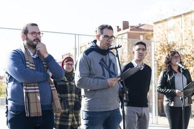 Joaquim Garcia-Rayo, representant de l'Associació de Veïns del Camí de la Serra. Foto: Sergio Ruiz