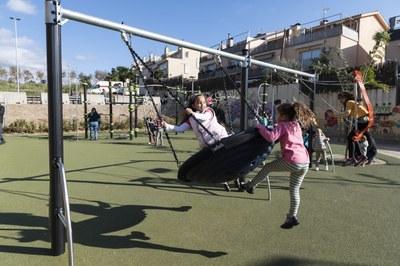Parc infantil de Figuera Major. Foto: Sergio Ruiz