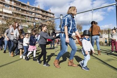 Festa d'inauguració del nou parc infantil de Figuera Major. Foto: Sergio Ruiz