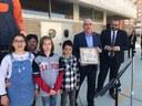 L'Escola Angeleta Ferrer s'inaugura oficialment amb la visita del conseller d'Ensenyament Josep Bargalló