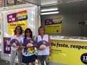 """La campanya """"No"""" és """"No"""" s'intensifica per Les Santes i s'afegeix """"No callem, de festa respecta"""" pel col•lectiu LGTBI"""