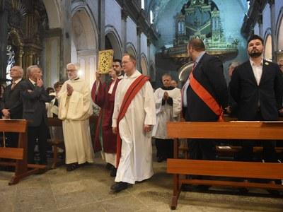 La Missa de Les Santes. Foto: Albert Canalejo