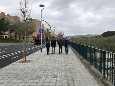 Visita oficial a la ronda de Miguel de Cervantes. Foto: Ajuntament